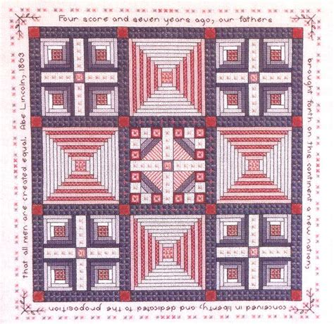 Pattern Works Lincoln | pattern works lincoln abe mary lincoln s quilt sler cross