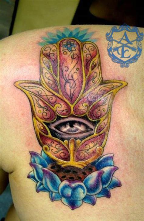 hamsa tattoo meaning 45 popular hamsa designs for with meaning
