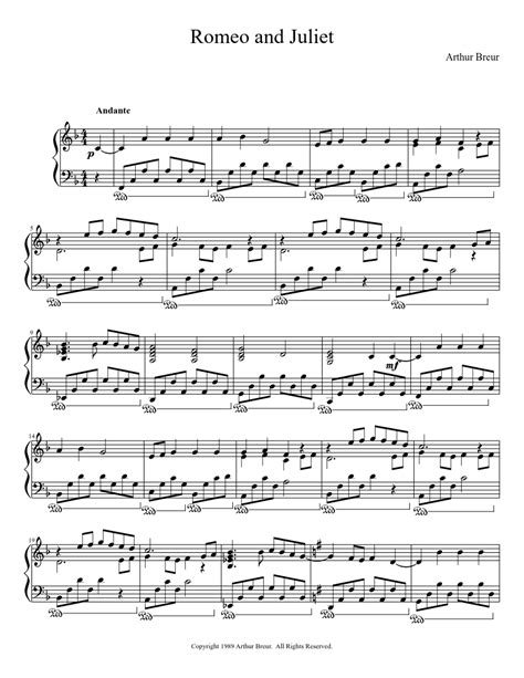theme song from romeo and juliet lyrics romeo and juliet piano solo piano sheet music
