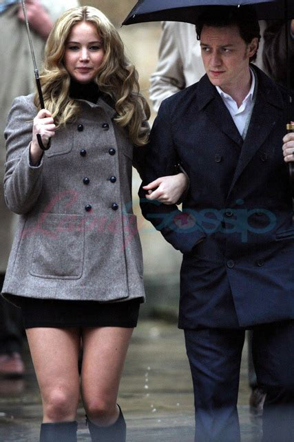 james mcavoy jennifer lawrence movie x men first class photos with james mcavoy and jennifer