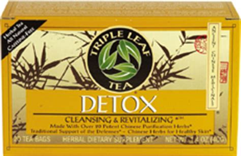 Leaf Detox Tea Benefits by Tripleleaf