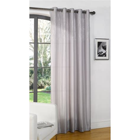 dreams n drapes dreams n drapes glamour silver single silk voile panel