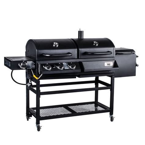Smoker And Grill by Backyard Pro Portable Outdoor Gas And Charcoal Grill