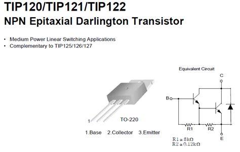 ganho transistor bc547 transistor tip122 28 images transistor darlington tip122 tip120 tip122 transistor switching