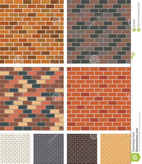 brick wall stock vector image  masonry decoration