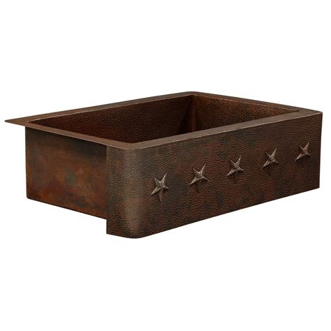 farmhouse apron front copper sinks kitchen sinks the