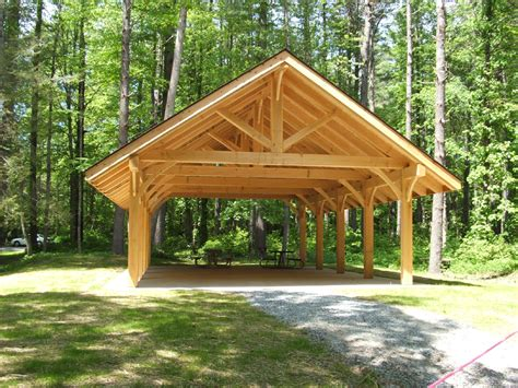 Carports Plans blue ridge parkway education shelter at linville falls