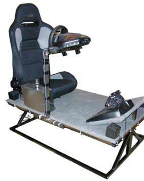 Racing Simulator Chair Hydraulic Feedback Racing Simulator Inventgeek