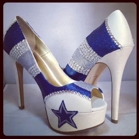 dallas cowboys womens high heels 23 best images about custom heels on rompers