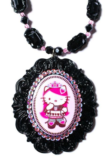 Tarina Tarantino Rosebud Cameo Necklace by Tarina Tarantino Of Pink Cameo Necklace