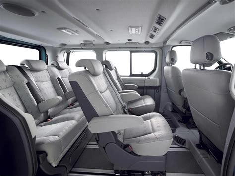 renault trafic interior renault trafic long 9 seats model vehicle specifications