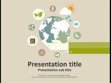 ppt templates for global warming global warming animated ppt template youtube