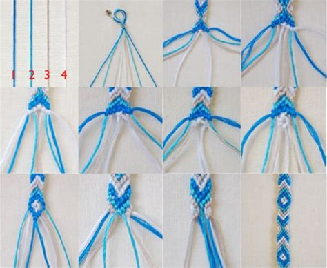String Designs Step By Step - best 25 friendship bracelets tutorial ideas on