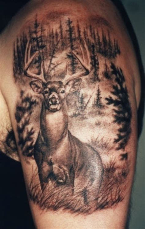 hunting tattoos deer tattoos about