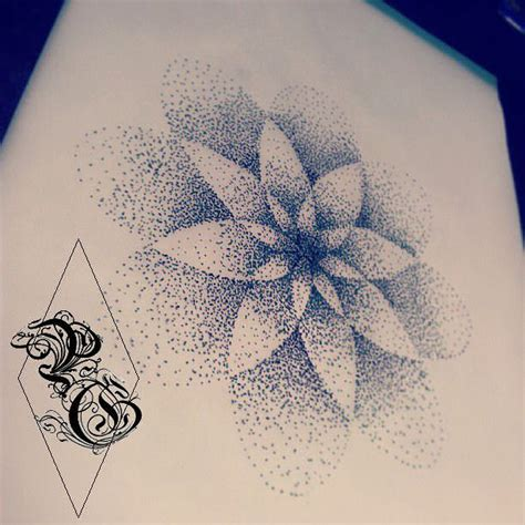 mandala dot work tattoo design by pretty grotesque