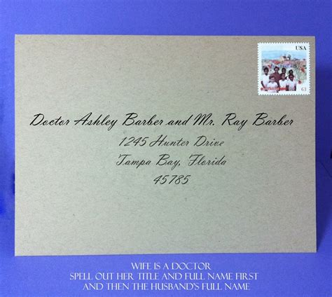 addressing wedding invitations doctor wedding guide how to address save the dates