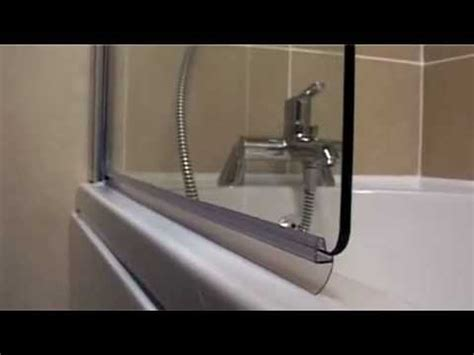 shower bath screen seal byretech clip seals the quot push on quot replacement seal for your shower screen