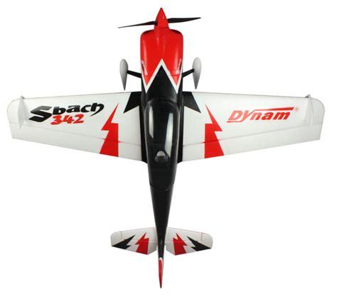 Dynam S Bach 342 1250mm Aerobatic Baru dynam 4 ch sbach 342 aerobatic rc plane q8rc