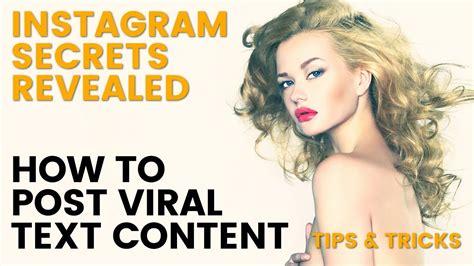 tutorial instagram ads instagram tutorial post content to go viral instagram tips