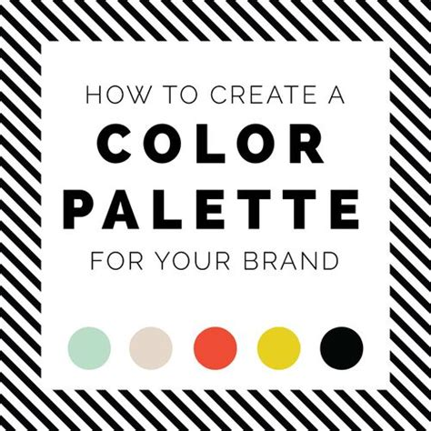 how to create your personal color palette plus take our 17 best images about branding color schemes on pinterest