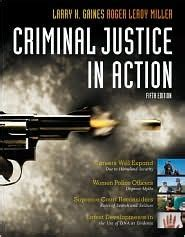 criminal justice in books criminal justice in by larry k gaines reviews
