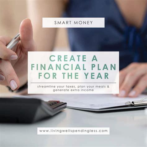 create  financial plan   year april smart money