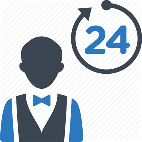 24 hours room service concierge non stop restaurant room service waiter icon icon search engine