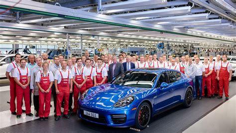 Porsch Leipzig by Exle Of Original Porsche Panamera Rolls The