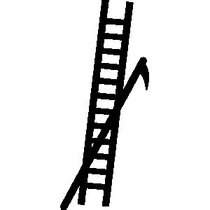 firefighter ladder clipart clipart suggest