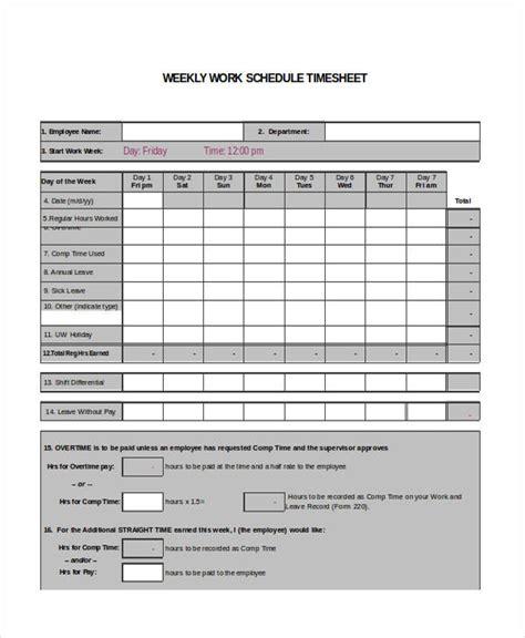 timesheet schedule template 28 printable timesheet templates free premium templates