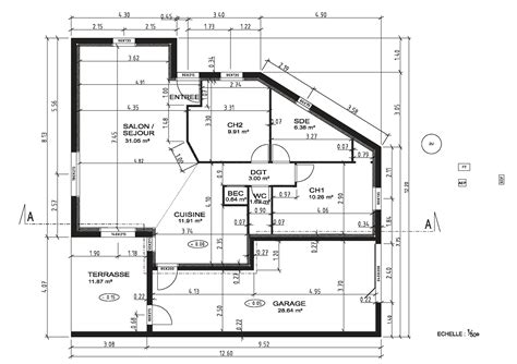 Plan De Maison Coté by Mornet Autoconstruction