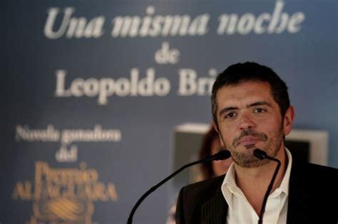 una misma noche premio leopoldo brizuela y su obra una misma noche area libros