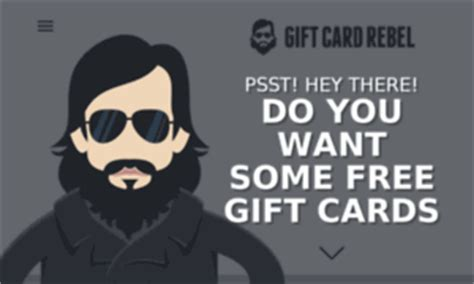 What Is Gift Card Rebel - giftcardrebel tech free gift cards gift card rebel