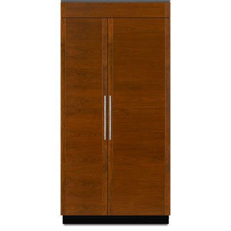 jenn air fridge 42 inch built in side by side refrigerator jenn air