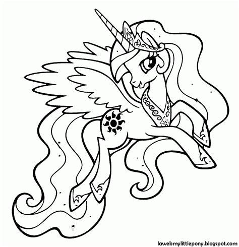 my little pony coloring page princess celestia my little pony dibujos para colorear de la princesa