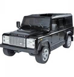 Jeep Land Rover Land Rover Defender 12v Licensed Electric Ride On Jeep Black