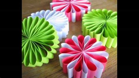 paper craft decoration home holiday paper crafts ideas home art design decorations