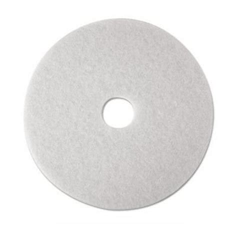 3m White Pad 4100 17 Inch Floor Buffing Pad 16 quot 3m white polishing pads low speed floor buffing pads 4100 mmm08480