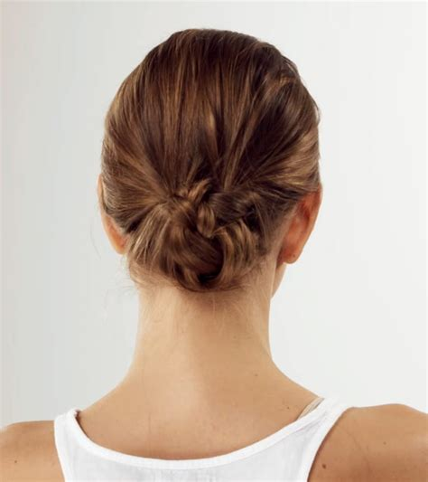 low bun with short hair low bun hairstyle hairstyles by unixcode