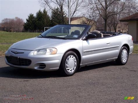 Chrysler Sebring 2001 Convertible by 2001 Chrysler Sebring Lx Convertible In Bright Silver