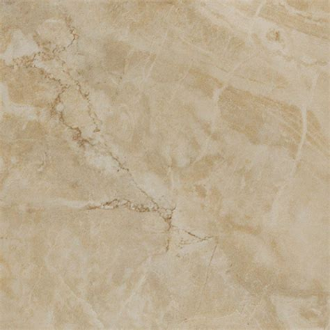 Tile Flooring Lowes by Shop 12 In X 12 In Augustus Ivory Glazed Porcelain Floor
