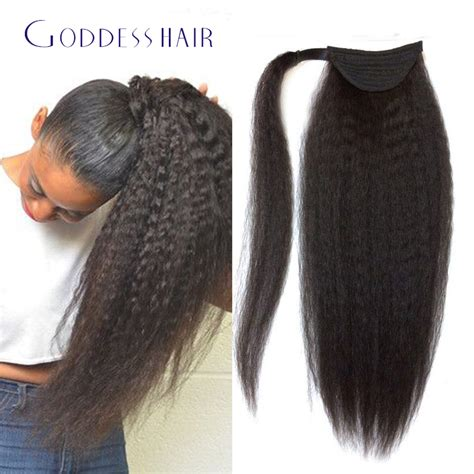 yaki pony hair for braiding 24 inches pictures of women wholesale brazilian kinky straight hair ponytail natural