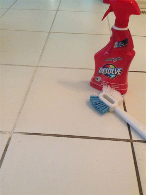 How To Clean Floor Tile Grout In Bathroom by Resolve Carpet Cleaner To Clean Grout Hydrogen Peroxide