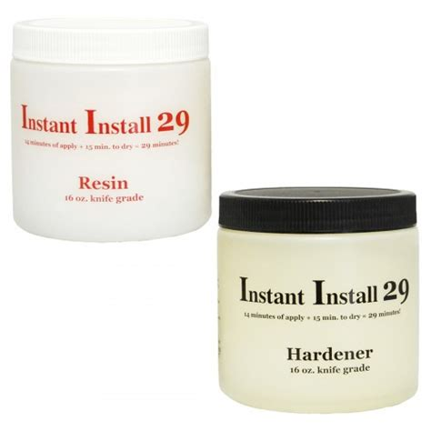 instant install 29 minute epoxy 32oz countertop guides