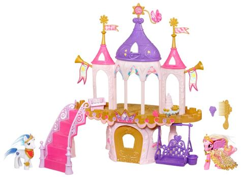 Playhouse Chandelier Amazon Com My Little Pony Princess Wedding Castle Toys