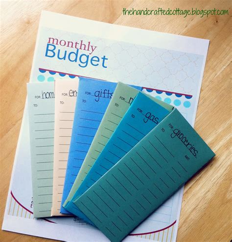budget envelopes template the crafted cottage stuff happen