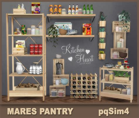 pqsims mares pantry sims  downloads