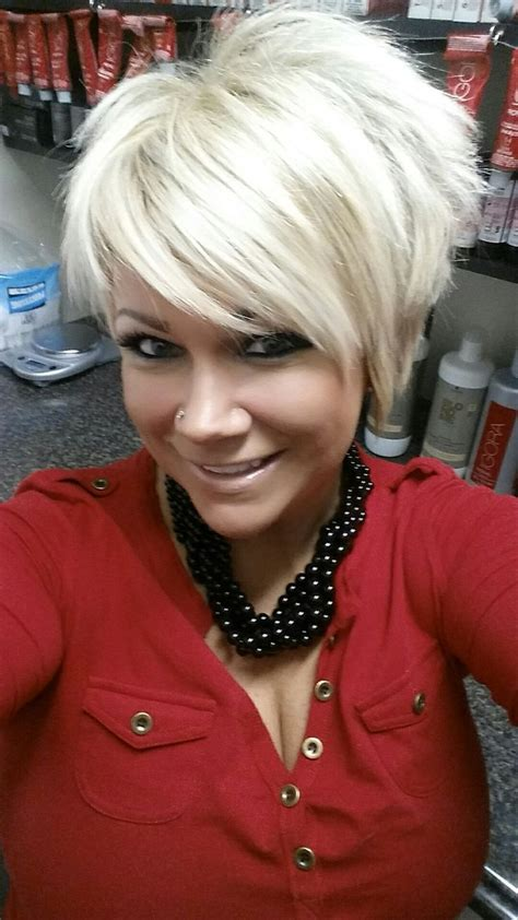 stacked pixie haircut 2113 best hair images on pinterest hairstyles short