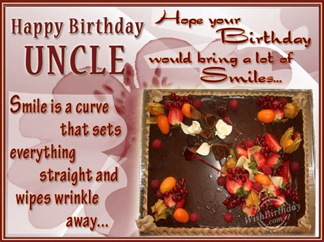 Birthday Cards For Uncles Birthday Wishes For Uncle Birthday Images Pictures