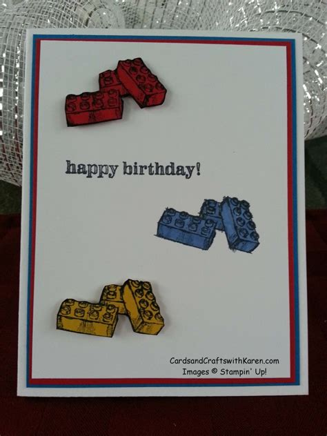 Lego Store Gift Cards Online - simple saturdays lego birthday cards and crafts with karen